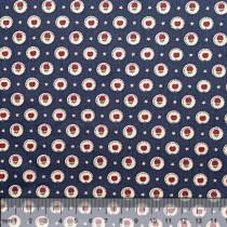 Ткань 100% хлопок, серия Цветочные Мотивы, дизайн 20, цвет 1